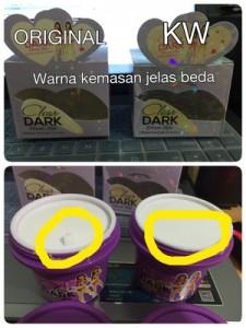 Perbedaan Clear Dark Dream Skin Asli dan Palsu