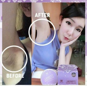 Hasil Pemakaian Armpit Milk Cream - 2