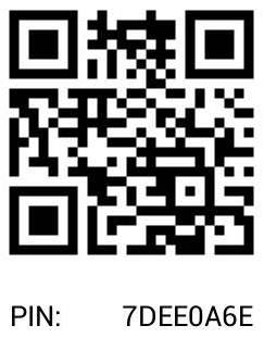 BBM QR Code for Cara Order Toko Wanita