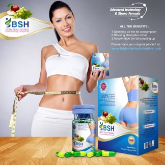 Obat Pelangsing Body Slim Herbal Asli/Original - Kapsul