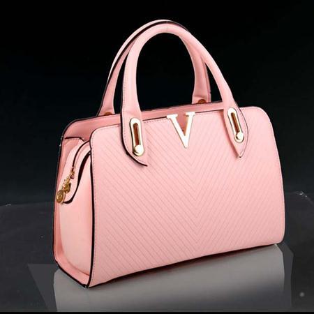 Tas Wanita Import Pink Elegant