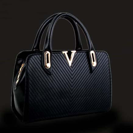 Tas Wanita Import Black Elegant