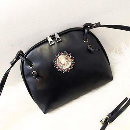 Tas Fashion Korea Handbag Black - TF895