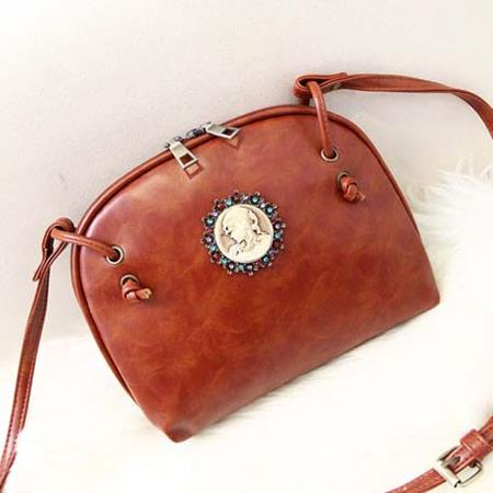 Tas Fashion Korea Handbag Coklat - TF897