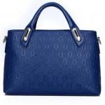Tas Import 4 in 1 Blue dengan Boneka Beruang - TF694-2