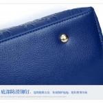 Tas Import 4 in 1 Blue dengan Boneka Beruang - TF694-6