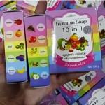 Fruitamin Soap 10 in 1 by Wink White Asli atau Original - 2