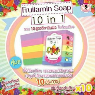 Fruitamin Soap 10 in 1 by Wink White Asli atau Original