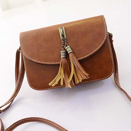Sling Bag Mini Size Impor Brown TF898