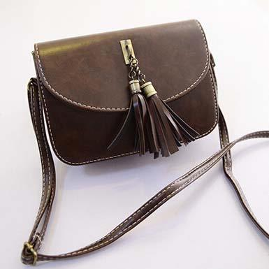 Sling Bag Mini Size Impor Dark Brown TF900