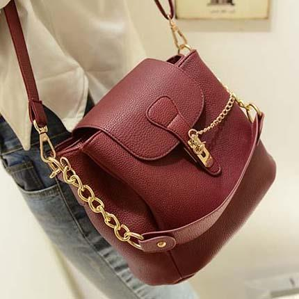 Tas Selempang Fashion Import Maroon TF926