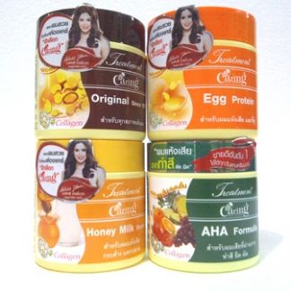 CARING HAIR MASK TREATMENT COLLAGEN CREAM 4 VARIAN