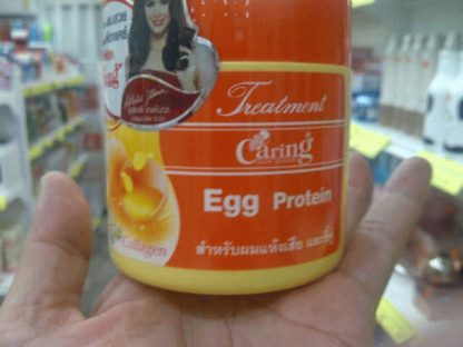 Caring Hair Mask Treatment Collagen Cream - Egg Protein