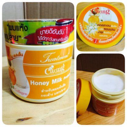 Caring Hair Mask Treatment Collagen Cream - Honey Milk