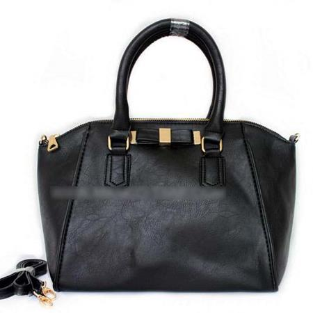 Hand Bag Formal Bahan Pu Leather Hitam TF832