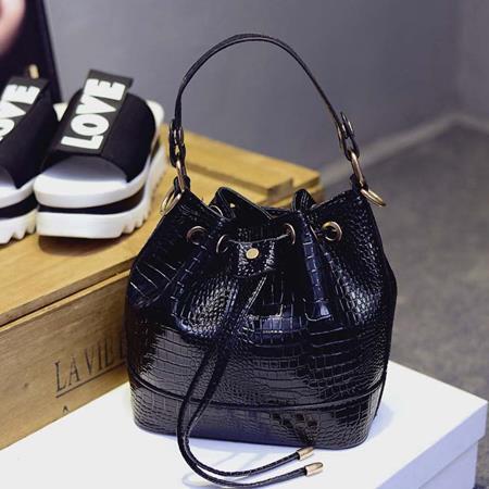 Hand Bag Mini Lucu Impor Hitam TF794