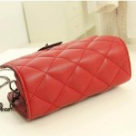 Sling Bag Mini Simple Design With Clip Lock Merah TF882-2