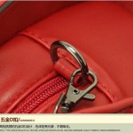 Sling Bag Mini Simple Design With Clip Lock Merah TF882-7