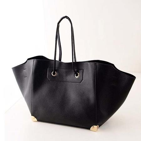 Tas Tangan Fashion Model Batwing Black