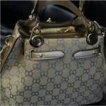 NEW European Style Retro Fashion Lady Handbag - Blue 2