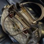 NEW European Style Retro Fashion Lady Handbag - Blue 3