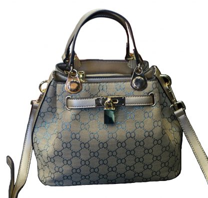 NEW European Style Retro Fashion Lady Handbag - Blue