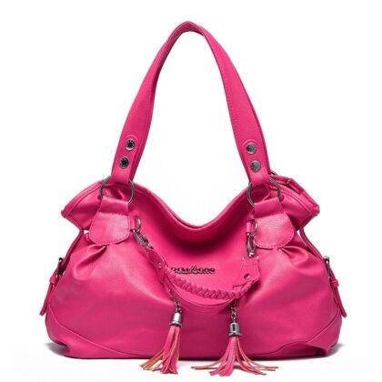 Deulgao Women Hobo Bag with Tassel